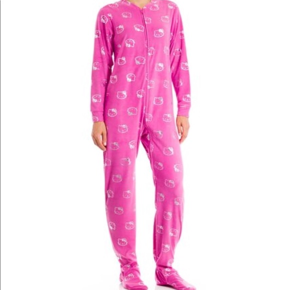 6b03d3f20 Hello Kitty Intimates & Sleepwear | Adult Footsie Pajamas | Poshmark